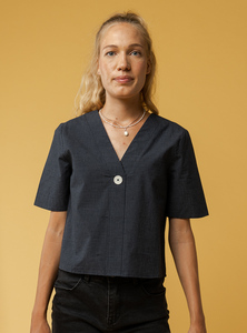 Damen Bluse NALA - Fairtrade Cotton & GOTS zertifiziert - MELAWEAR