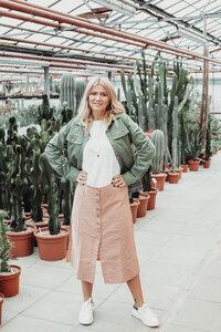Twill Jacke für Frauen - frankie & lou organic wear