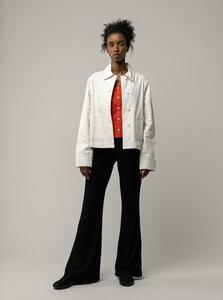 Damen Workwear Twill-Jacke MAALAI - Nachhaltig mit Fairtrade Cotton & GOTS zertifiziert - MELAWEAR