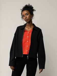 Damen Twill-Jacke NUPUR - Nachhaltig mit Fairtrade Cotton & GOTS zertifiziert - MELAWEAR
