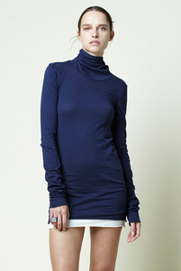Lengthened Turtleneck - Stewart+Brown