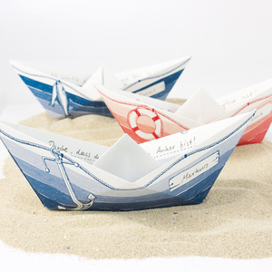 Grußboote 3er Set - Bow & Hummingbird