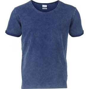 Indigo Pique Tee - KnowledgeCotton Apparel