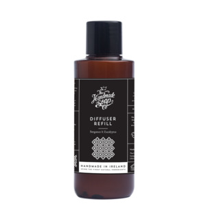 Raumduft Diffuser Refillpack Bergamotte und Eukalyptus 150ml - The Handmade Soap Company
