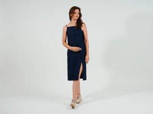 Shannary Kleid // blaue Seide - FOLKDAYS