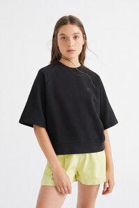 Pullover - Sol Black Sweatshirt - Schwarz - thinking mu