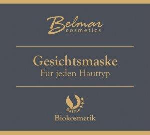 Biokosmetik Gesichtsmaske SACHET - Belmar cosmetics
