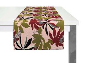 Tischläufer Jungle tolles Design 100 % Bio Baumwolle tolle Farben - Adam -Natürlich Wohnen