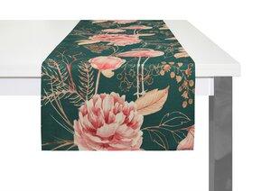 Tischläufer Eden tolles Design 100 % Bio Baumwolle tolle Farben - Adam -Natürlich Wohnen