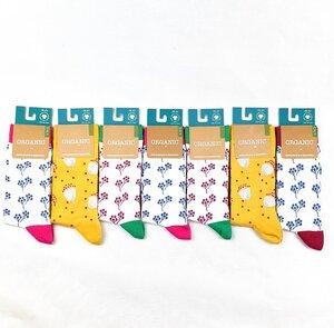 """GOTS zertifizierte Biobaumwolle Socken in """"7er Pack"""" - VNS Organic Socks"""