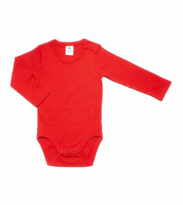 Baby Kinder Body Langarm Bio-Baumwolle Rippjersey 2005 - Leela Cotton