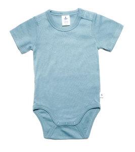 Baby Kinder Body Kurzarm Bio-Baumwolle Rippjersey 2006 - Leela Cotton