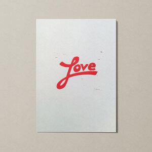 Love I – Kunstdruck DIN A5 - Ballenito