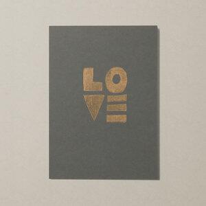 Love II – Kunstdruck DIN A5 - Ballenito