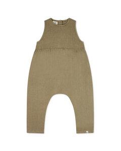 Jumpsuit aus Leinen für Kinder / Rye Jumpsuit - Matona