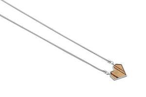 """Kette mit Anhänger - Motiv Herz - """"Lini Necklace Heart"""" - BeWooden"""