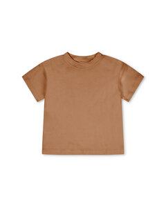T-Shirt für Kinder / Basic Tshirt aus pflanzengefärbter Biobaumwolle - Matona
