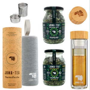 JUMA-TEA Guayusa flow 2 go Set  - JUMA-TEA