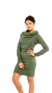 Kolla Pulloverkleid '2 in1' Grün meliert - Kollateralschaden