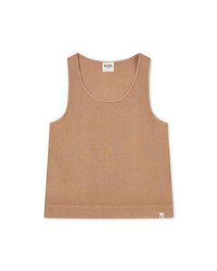 T-shirt aus Leinen für Frauen / Women Rosa Tank Top - Matona