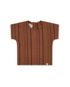 T-Shirt aus Leinen für Kinder / Arlo Tshirt - Matona