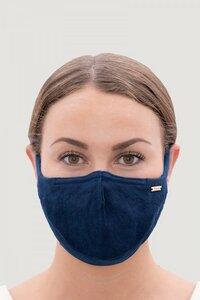 Gesichtsmaske - Leinen - Filter - natürlich gefärbt - 1 People