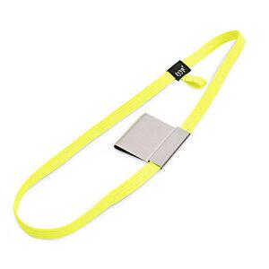 Stifthalter & Gummiband (Stiftschlaufe pen loop) für DIN A5 Bücher - Neon - tyyp