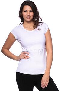 103 BASIC Umstands- und Stillshirt kurzarm aus Bio-Baumwolle - Milchshake
