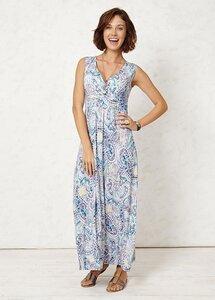 Avani Blu Maxi Dress Print 1 - Braintree