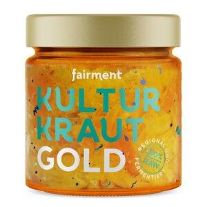 Bio Kultur-Kraut Gold (330g) - Fairment