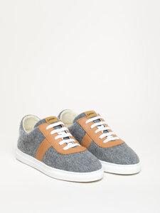 Magicfelt moderner Wool Walker mit Lederbesatz Sneaker Neu aus Schurwolle - Gottstein Österreich-Marke Magicfelt