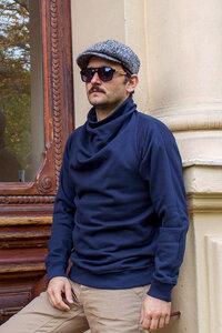 Pullover klassik mit besonderem Kragen - Kollateralschaden
