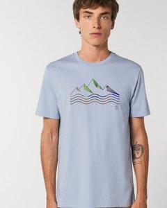 Reine Biobaumwolle- Weiches angenehmes Shirt / acqua e montagne - Kultgut