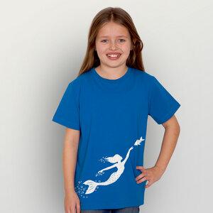 """Meerjungfrau"" Unisex Kinder T-Shirt - HANDGEDRUCKT"