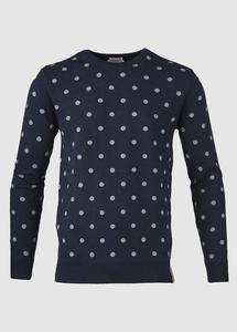 Dotted Knit Total Eclipse - KnowledgeCotton Apparel