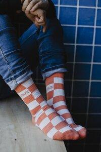 Checker Socks - dirts