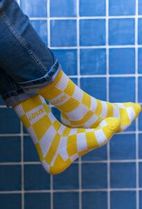 Checker Socks - dirts