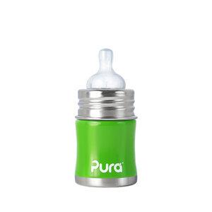 Pura Kiki Babyflasche 150ml - Edelstahl - Pura