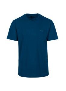 T-Shirt aus Biobaumwolle mit Brusttasche - Trigema