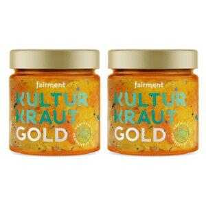 Bio Kultur-Kraut Gold (2 x 330g) - Fairment
