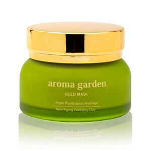 24K Gold Detox-Maske mit Tonerde - aroma garden