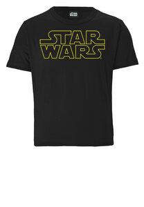 LOGOSHIRT - Star Wars - Schriftzug - Logo - Organic - Bio T-Shirt Print - Kinder - LOGOSH!RT