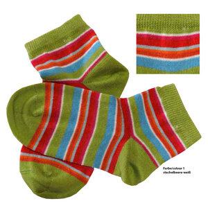 grödo 3er Pack Bio Baumwolle Kinderkurzschaftsöckchen - grödo