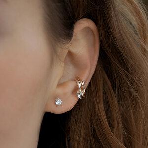 Eine Kollektion für Tiere - Lotte - Ohrringe von Nella EarCuffs - Ohrschmuck zum FAIRlieben - Nella Earcuffs®