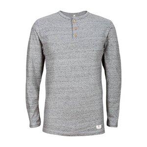 Buttoned Longsleeve Vintage Grey - bleed