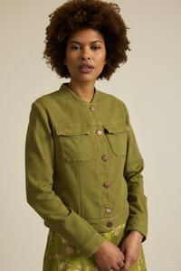 Jacke mit Struktur GOTS aus Bio-Baumwolle - LANIUS