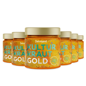 Bio Kultur-Kraut Gold (6 x 330g) - Fairment
