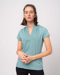 Kurzarmshirt aus Bio-Baumwolle 'Short Kelch' - Alma & Lovis
