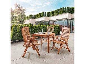 Gartenmöbel-Set 'Calea', 5-teilig, 4 Sessel, 1 Tisch - memo