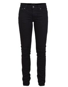 Skinny Lin Organic Black Black - Nudie